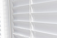 Metal Blinds with drawstring. Stock Photos