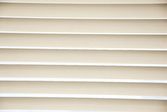 Metal Blinds with drawstring. Royalty Free Stock Photo