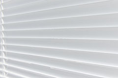 Metal Blinds with drawstring. Royalty Free Stock Image
