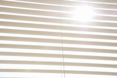 Metal Blinds With Drawstring Royalty Free Stock Image