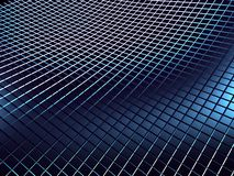 Metal blue abstract background. 3d royalty free illustration