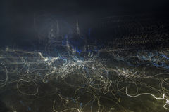 Metal blur Stock Images