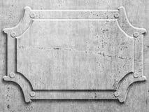 Metal board Stock Photography