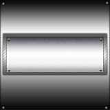 Metal board Royalty Free Stock Photo