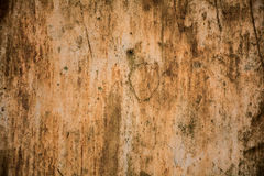 Metal board with rusted surface Stock Images