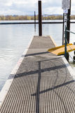 Metal Boat Dock Stock Photography