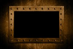 Metal Bolted frame Royalty Free Stock Photos