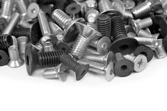 Metal bolts Stock Image