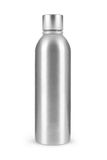 Metal bottle isolated on white background. Metal bottle isolated on a white background Royalty Free Stock Photography
