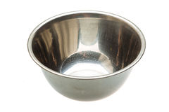 Metal bowl Stock Image