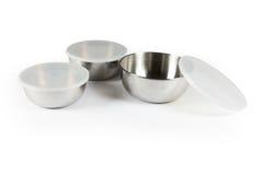 Metal bowl Stock Photos