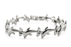 Metal bracelet Royalty Free Stock Image