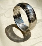 Metal bracelet Royalty Free Stock Photography