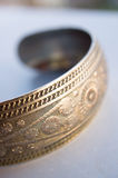Metal bracelet Royalty Free Stock Photo