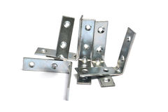 Metal bracket Stock Images