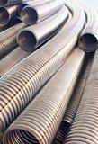 Metal braid. Royalty Free Stock Photography