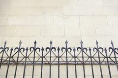 Metal brama w kościół Fotografia Stock