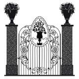 Metal bramy Obrazy Royalty Free