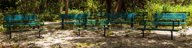 Free Metal Branches Relaxing Area Stock Images - 97437234