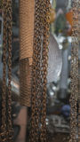 Metal, Bras. Household metal products. Products from Steel and M Royalty Free Stock Photo