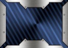 Metal brass frame Royalty Free Stock Image