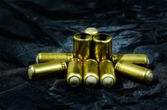 Metal, Brass, Gun Accessory, Weapon Royalty Free Stock Image