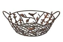 Metal breadbasket Royalty Free Stock Photos