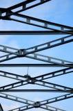 metal bridżowa wielka struktura Zdjęcie Royalty Free