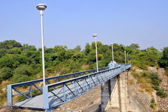 Metal bridge Royalty Free Stock Images