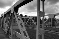 Metal bridge in Fort lauderdale royalty free stock images