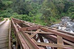 Metal Bridge III stock photography