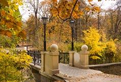 Metal Bridge at Kislovodsk. Royalty Free Stock Images