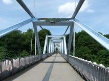 Metal bridge Royalty Free Stock Image