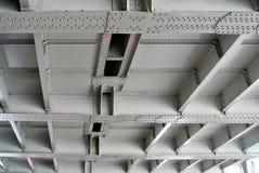 Metal bridge structure Royalty Free Stock Photos