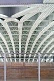 Metal bridge structure Stock Images