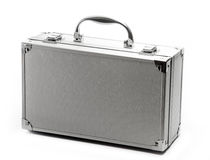 Metal Briefase Royalty Free Stock Photography