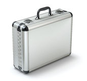 Metal briefcase Royalty Free Stock Photography