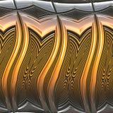 Metal brilhante ilustração royalty free