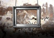 metal brudna ściana Obrazy Royalty Free