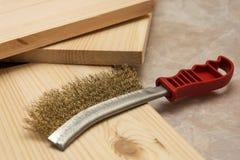 Metal brush Royalty Free Stock Images