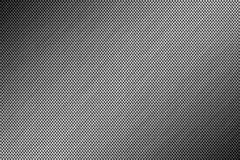Metal brushed background, perforated metal surface Stock Photography