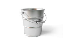 Metal bucket Royalty Free Stock Photos
