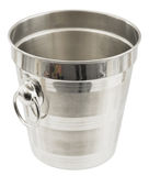 Metal bucket for ice Royalty Free Stock Photos