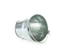 Metal bucket Stock Image