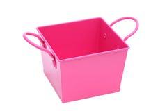 Metal bucket Royalty Free Stock Photography