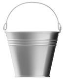 Metal bucket Royalty Free Stock Photos