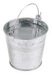 Metal bucket with water Stock Photos