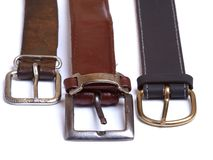 Metal buckles Stock Images