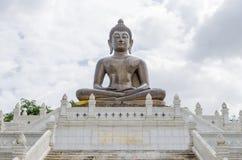 A metal Buddha of Yala. It was located at Betong, Yala province Stock Photo