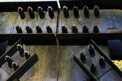 Metal budowa most obrazy stock